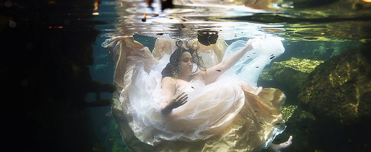 Bride's Underwater Photo Shoot Is Heartbreaking and Hopeful
