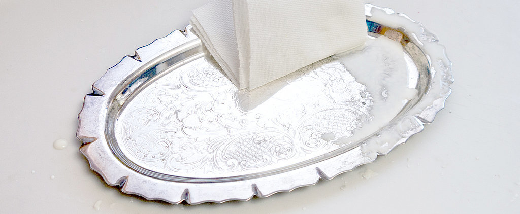 Naturally Polish Dingy Silver With Cornstarch