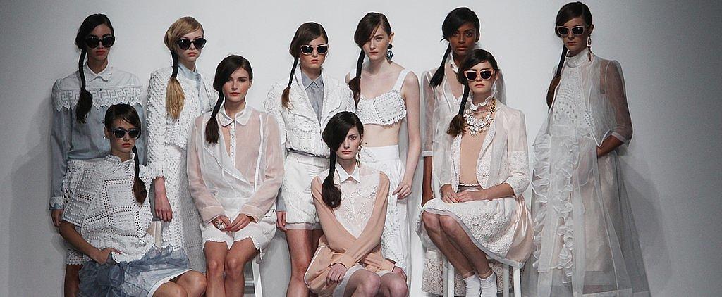 Rosie Fortescue London Fashion Week Report #1