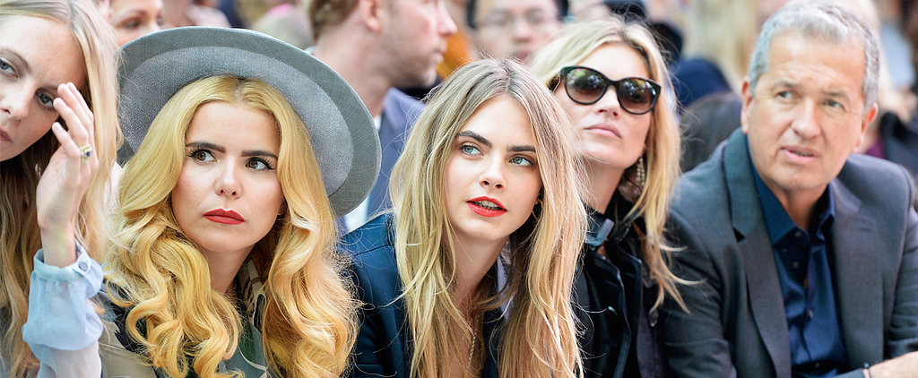 See All the Celebrities at London Fashion Week