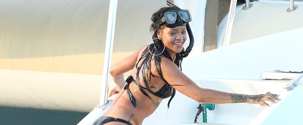 Rihanna Logs Bikini Time Amid Controversy With CBS