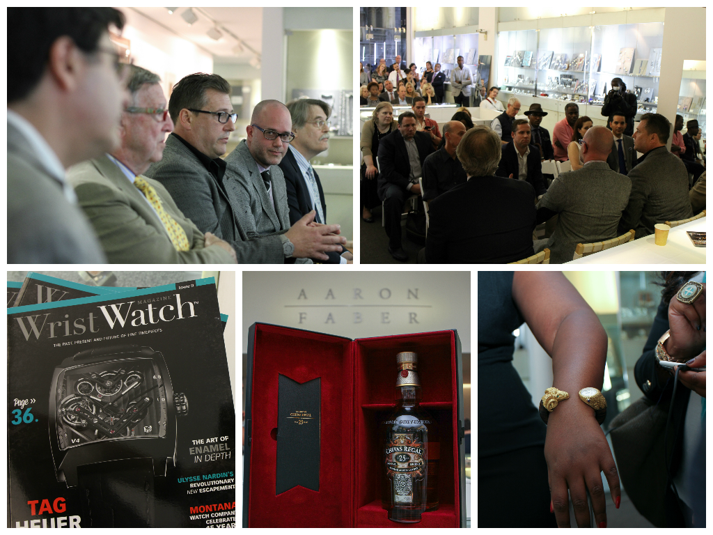 The Watch Collectors' Roundtable Aaron Faber NYFW SS/15