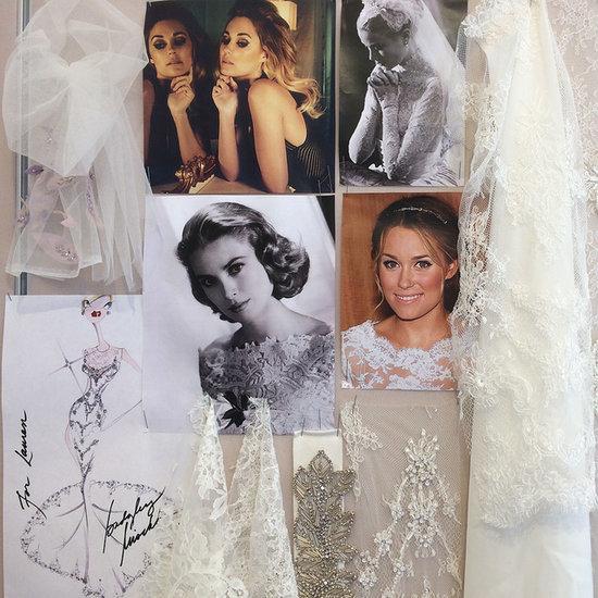 Pictures Of Lauren Conrad's Wedding Dress Design