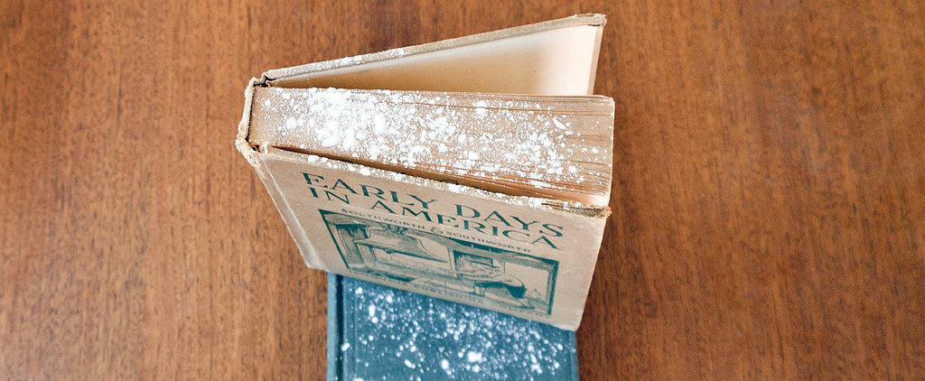 Refresh Musty Old Books With Cornstarch