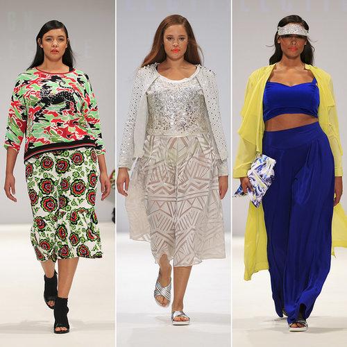 Evans Plus-Size Spring 2015 Show | London Fashion Week