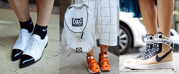 "When It Comes to Crazy Accessories, Milan Street Style Says, ""Just Do It!"""