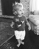 Jessica Simpson's Son Ace, 14 Months, Walks While Holding Snack: Picture