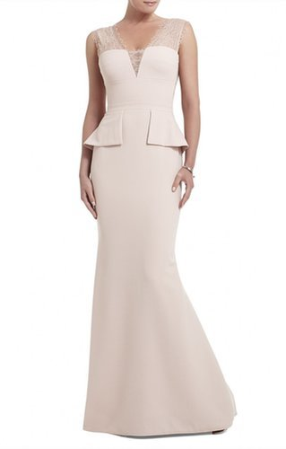 $197.00 BCBG MIRANNDA SLEEVELESS FIT AND FLARE GOWN