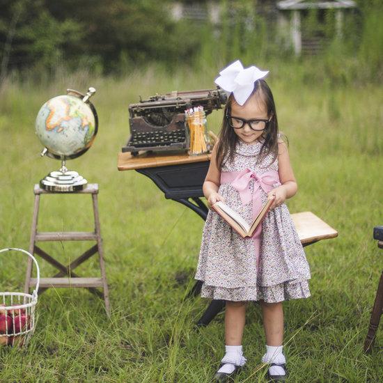 Readin', 'Ritin', 'Rithmetic: This School Days Photo Shoot Is One to Cherish