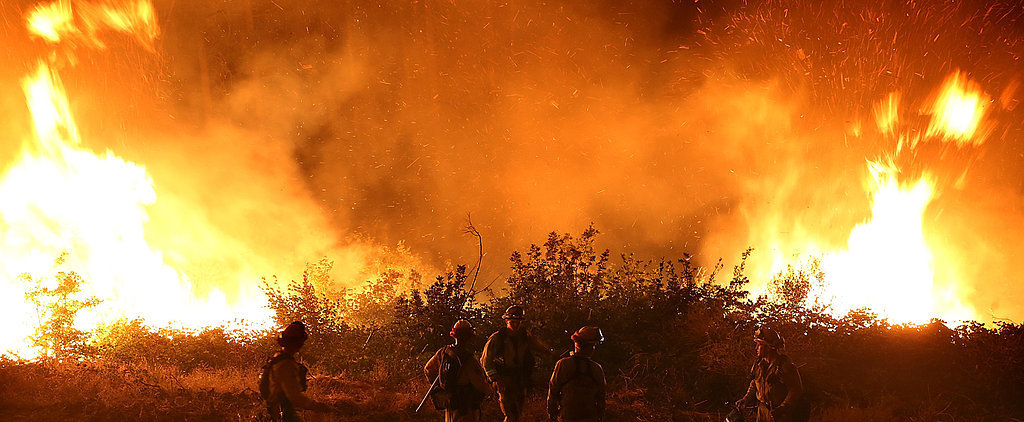 Shocking Pictures Provide an Up-Close Look at California's Devastating Wildfire