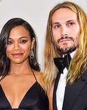 Zoe Saldana Pole Dances With Marco Perego While Pregnant: Funny Video