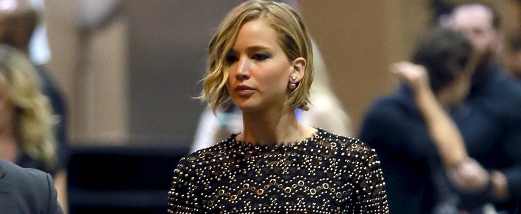 Jennifer Lawrence Steps Out to Support Her New Man Chris Martin