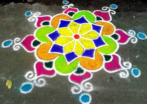 Rangoli design samples