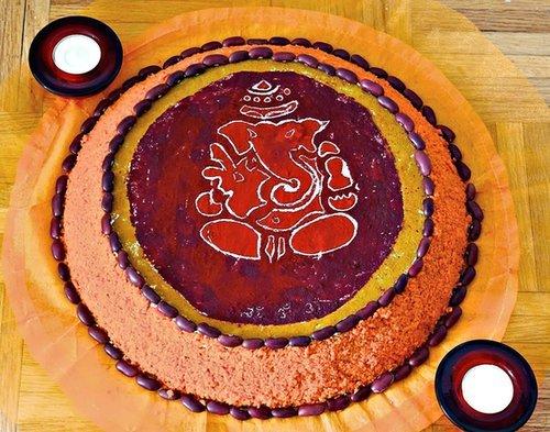 How to make diwali rangoli?