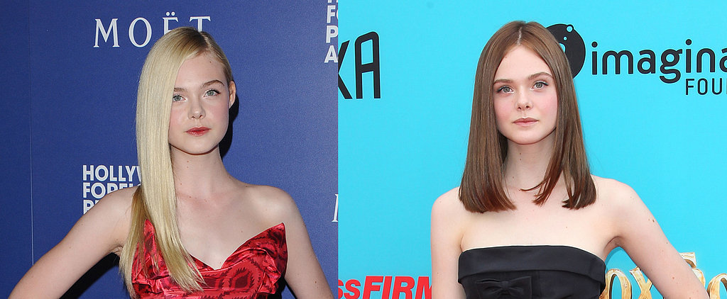 Elle Fanning's All Grown Up Thanks to Her New Brunette Lob