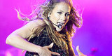 Jennifer Lopez Takes The Stage In A Sheer Bodysuit