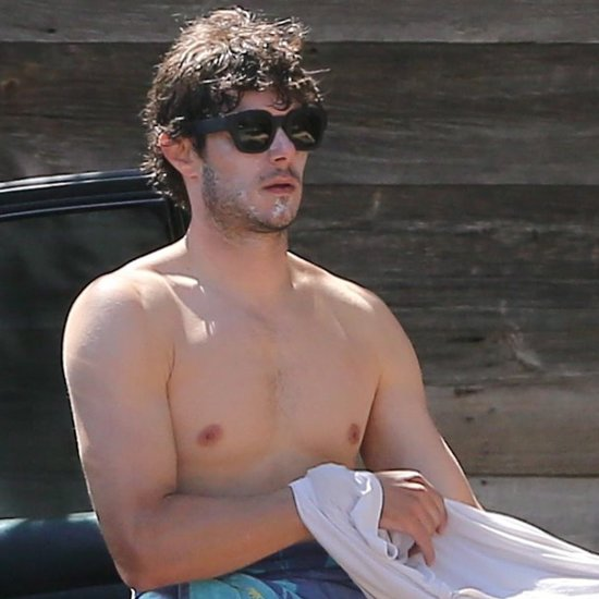 Beach Boy Adam Brody Shows Off His Impressive Shirtless Body
