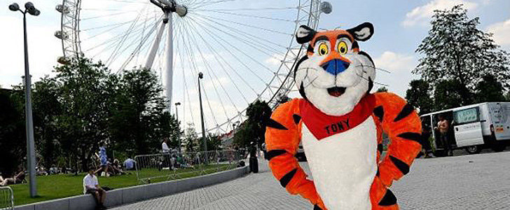 Tony the Tiger's Gone Seriously High Fashion