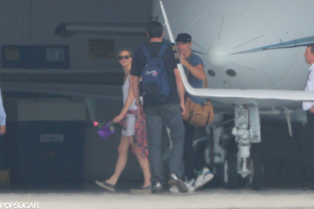Jennifer Lawrence and Chris Martin Extremely Cozy with Each Other