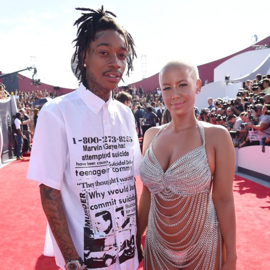 Amber Rose And Wiz Khalifa Split, File For Divorce