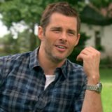 James Marsden The Best of Me Set Interview Video
