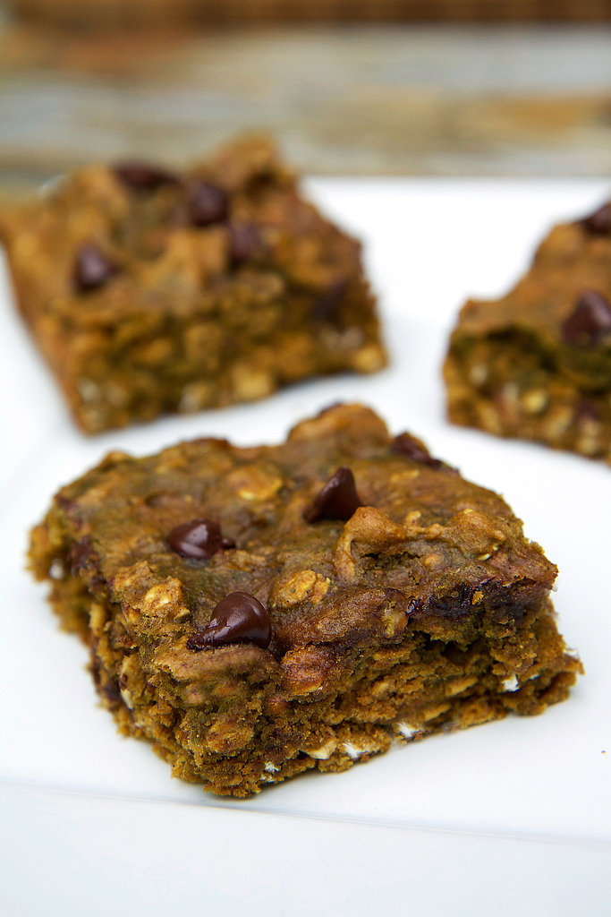 Pumpkin Chocolate Chip Protein Bars | Energy Bar Recipes So You Can ...