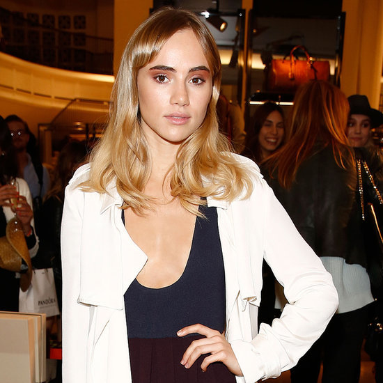 Suki Waterhouse New Brunette Hair Pictures