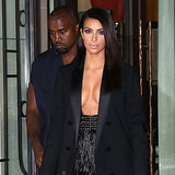 Kanye Is Flashing More Skin Than Kim . . . Se