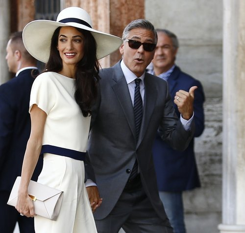 Amal Alamuddin Hair and Makeup
