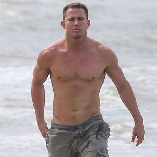 Channing Tatum Flaunts the Fruits of His Magic Mike Labor on the Beach