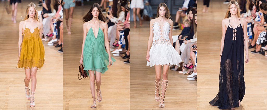 The Dreamiest Dresses From the Chloé Spring 2015 Runway