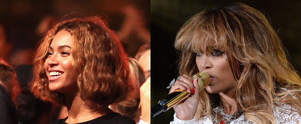 Beyoncé Ditches the Bob For New Bangs
