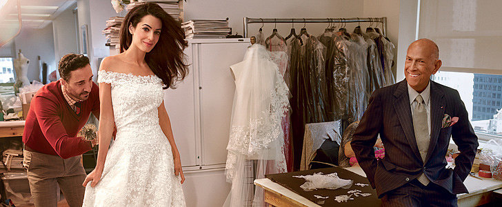 Amal Alamuddin's Wedding Gown Is Just as Chic as You'd Think It'd Be