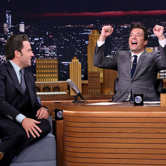 "Ben Affleck Tells Jimmy Fallon About His Gone Girl Marriage: ""The Masks Come Off"""