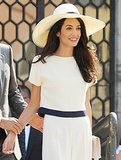See Amal Alamuddin's Stunning Custom Oscar de la Renta Wedding Dress