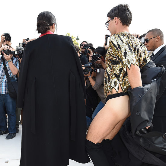 Prankster Vitalii Sediuk Strikes Again at Paris Fashion Week