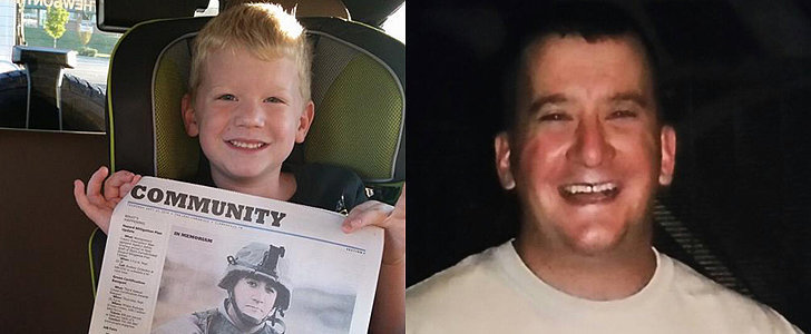 This Sweet Boy Inspired Thousands to Turn On Their Porch Lights For His Late Dad