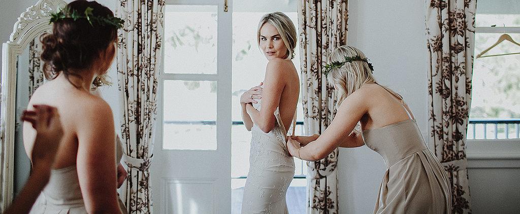 Real Brides: Stunning Photos From a Boho Garden Wedding