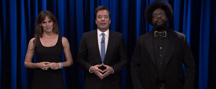 Jennifer Garner and Jimmy Fallon Are So in Sync, It's Scary