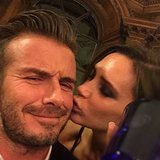 Victoria and David Beckham Get Silly and Sweet on His Big Night