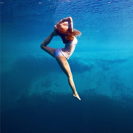Instagram Pictures Of Underwater Yoga