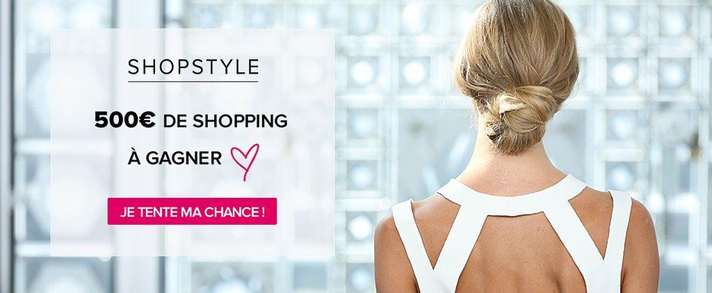 Gagnez 500€ de Shopping !