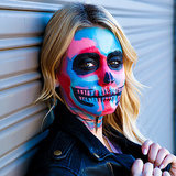 Cara Delevigne Skeleton Halloween Costume How To