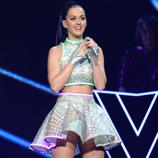 Katy Perry Performing at Super Bowl XLIX Halftime Show