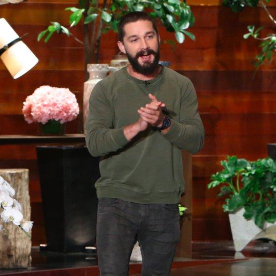 Shia LaBeouf Talks About His Arrest on Ellen Show   Video