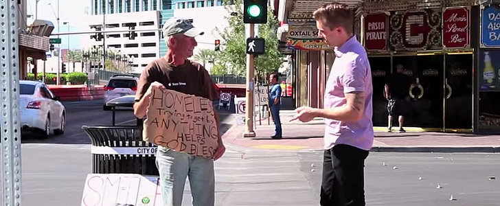 A Magician's Trick on a Homeless Vet Turns Into an Incredible Story