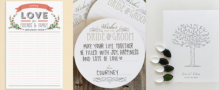 19 Free Wedding Guest-Book Printables That You'll Love