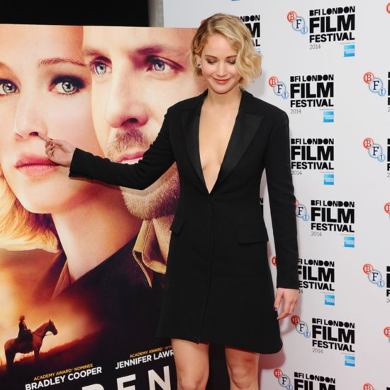 Jennifer Lawrence at Serena Premiere London Film Festival
