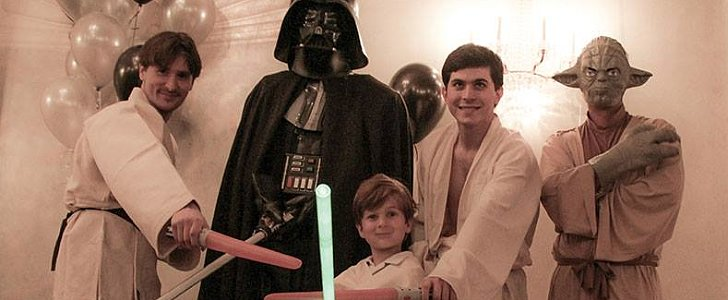 The Force Is With This Awesome Star Wars Party
