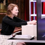 Emma Stone Plays Box of Lies With Jimmy Fallon